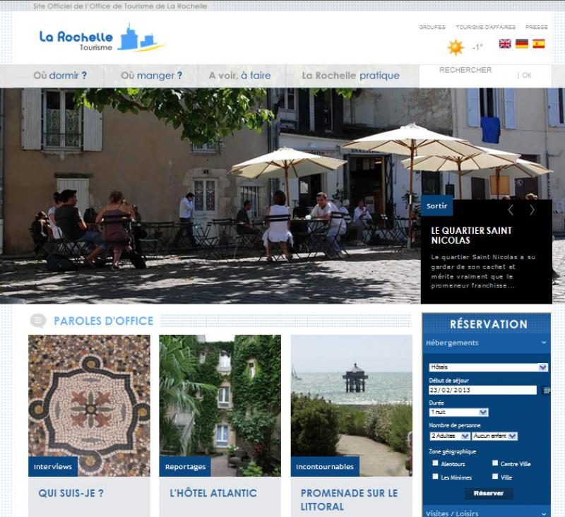La rochelle les sites amis de l 39 h tel de la paix - La rochelle office de tourisme ...